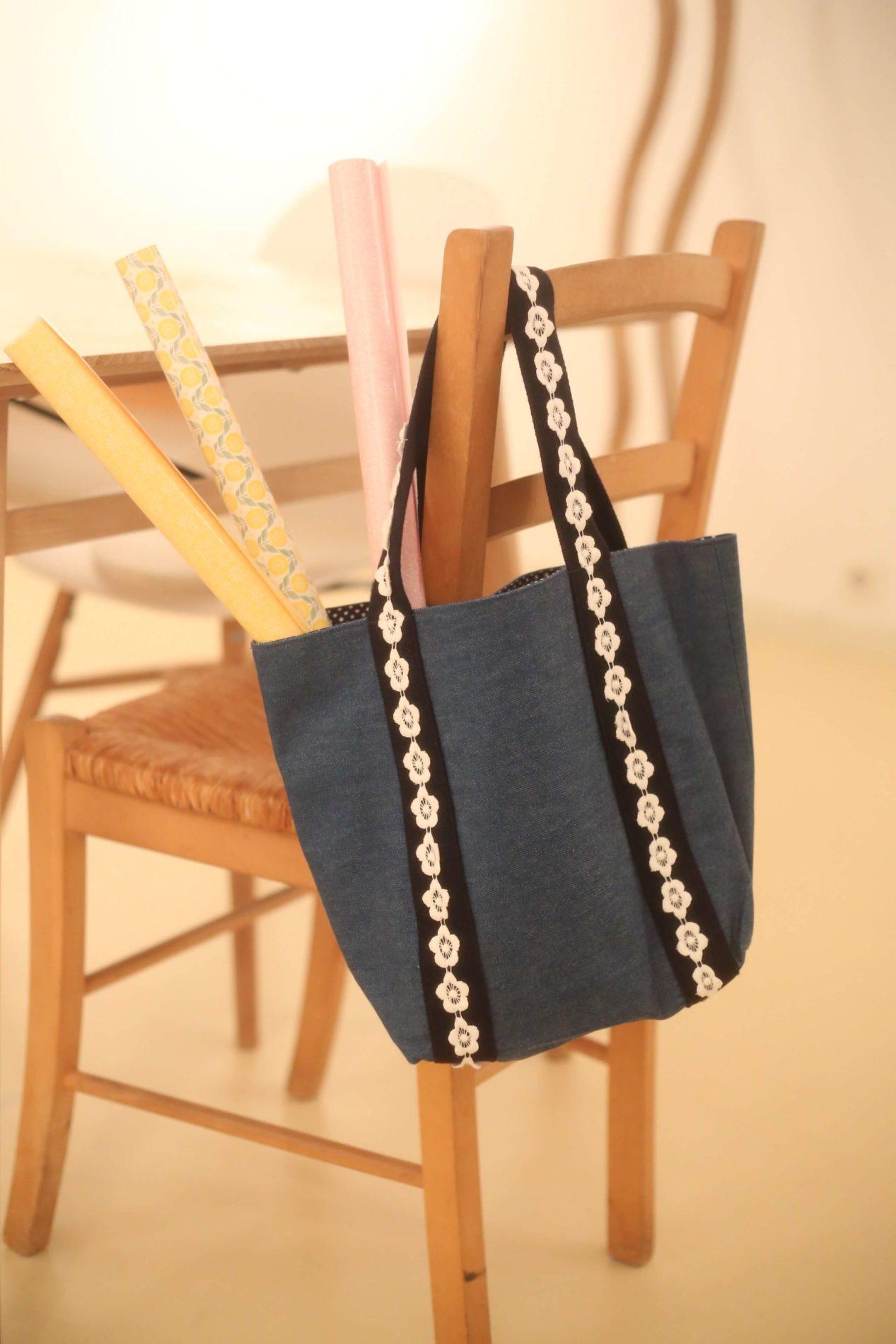 accessoire_sac_jeans_dentelle_fleur_blanche